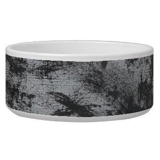 Black Ink on Grey Background