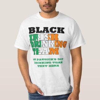 Black Irish Drinking Team T-Shirt