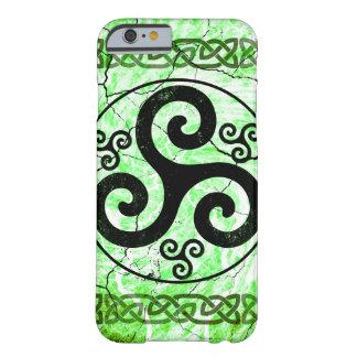 Black Irish Triskelion Barely There iPhone 6 Case
