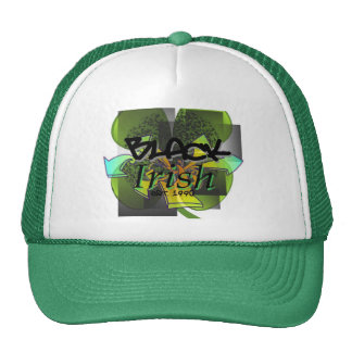 Black Irish Trucker Hat