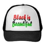 Black is Beautiful Pan-African Flag Trucker Hats