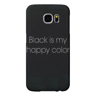 Black Is My Happy Color IPhone 6 Phone Case