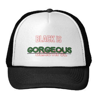 Black is not just beautiful, it's Gorgeous! Cap