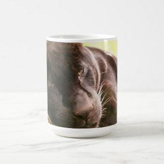 Black Jaguar Coffee Mug
