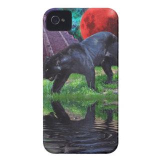 Black Jaguar Fantasy Blackberry Case