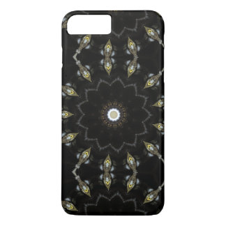 Black kaleidoscope | iPhone 8 plus/7 plus case