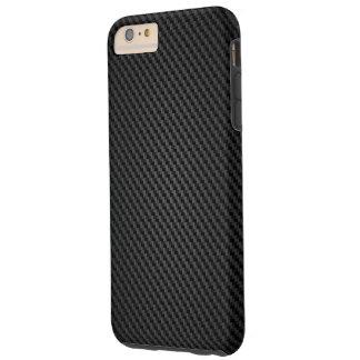 Black Kevlar para-aramid synthetic fiber Texture Tough iPhone 6 Plus Case