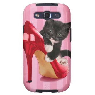 Black Kitten Galaxy SIII Case