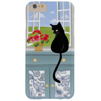 Black Kitty by the Window iPhone 6 Plus Case