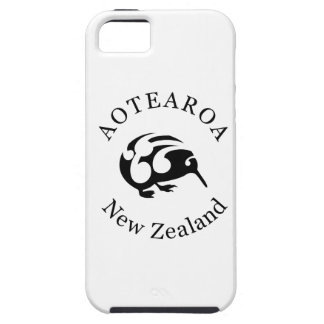 Black KIWI with Koru Tough iPhone 5 Case