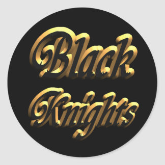 Black Knight Sticker3- Classic Round Sticker