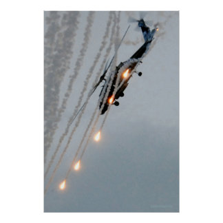 Black Knights Deploy Flares Poster