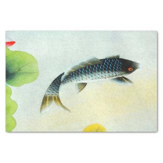 Black Koi Fish Tissue Paper