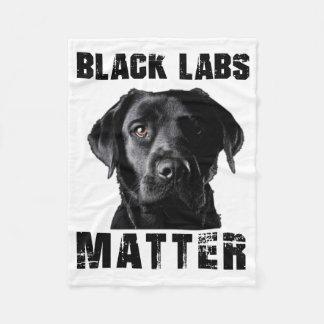 Black Lab Blanket