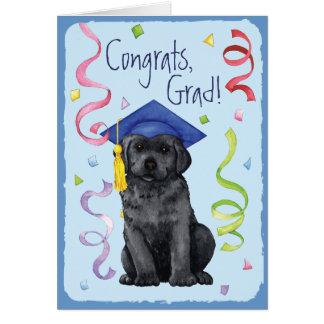 Black Lab Graduate Card
