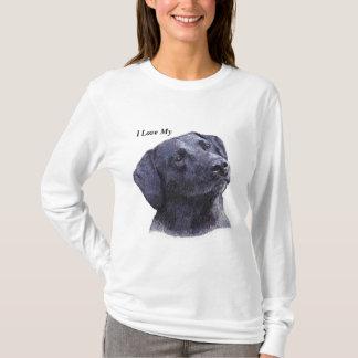 Black Lab Hoodie, I Love My (Dog) T-Shirt