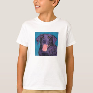 "Black Lab - Kids/Baby T-shirt - ""Pinecone"""