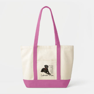 Black Lab Mom Tote
