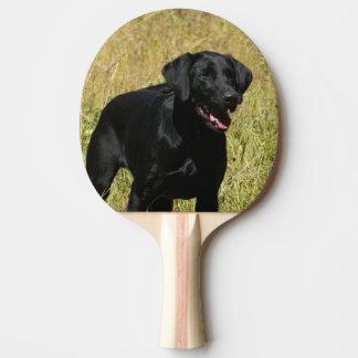 Black Lab Ping Pong Paddle