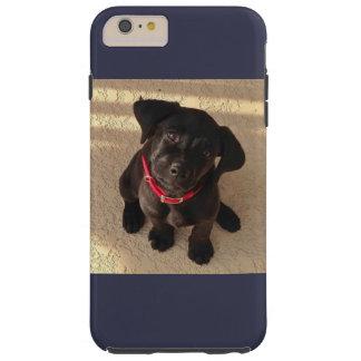 Black Lab puppy iPhone case