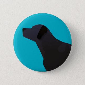 Black Lab Templates Ready to Customize 6 Cm Round Badge