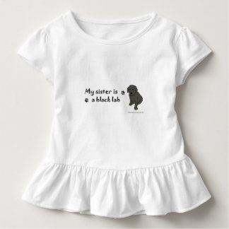 black lab toddler T-Shirt