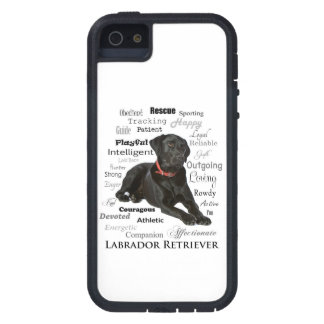 Black Lab Traits Smartphone Case