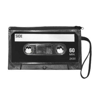 Black Label Cassette Wristlet