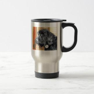 Black Labradoodle #1 Travel Mug