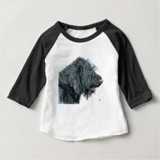 Black Labradoodle Baby T-Shirt
