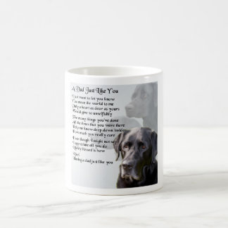 Black Labrador  Dad Poem Coffee Mug