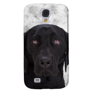 Black Labrador Dog Galaxy S4 Cover