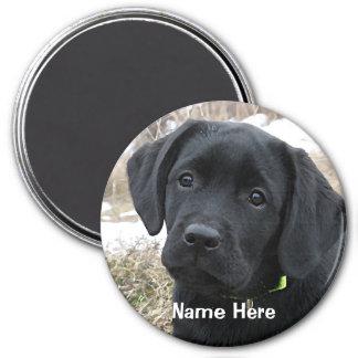 Black Labrador - Early Spring Hunt Magnet