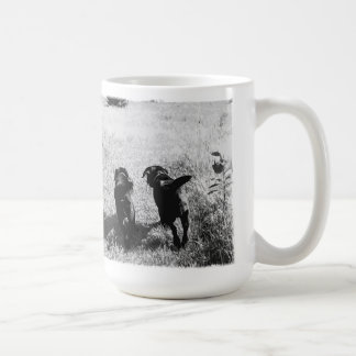 Black Labrador Friends Coffee Mug