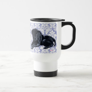 Black Labrador Puppy Travel Mug