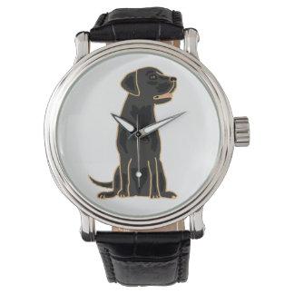 Black Labrador Retriever Art  Watch