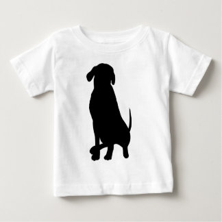 Black Labrador Retriever Baby T-Shirt