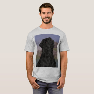 Black Labrador Retriever Dog T-Shirt