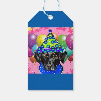 Black Labrador Retriever Gift Tags