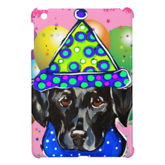 Black Labrador Retriever iPad Mini Covers