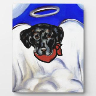 Black Labrador Retriever Plaque