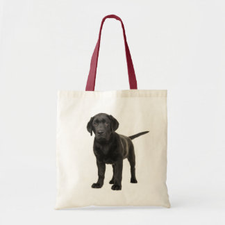 Black Labrador Retriever Puppy Dog Love Tote Bag