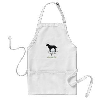 Black Labrador Retriever Standard Apron
