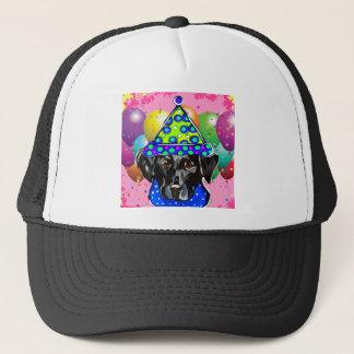 Black Labrador Retriever Trucker Hat