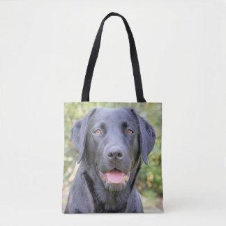 Black Labrador Tote
