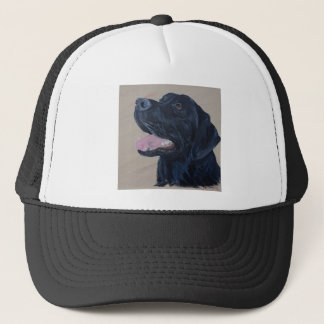 Black Labrador Trucker Hat