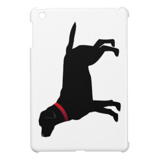 Black Labrador with Red Collar iPad Mini Case