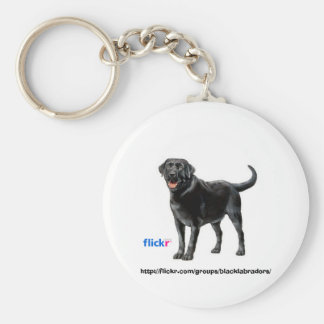 Black Labs Group Key Chain