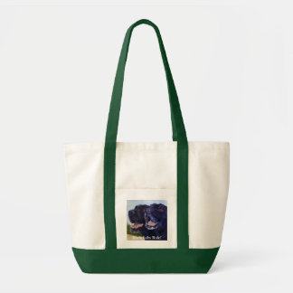 Black Labs Rule! Tote Bag