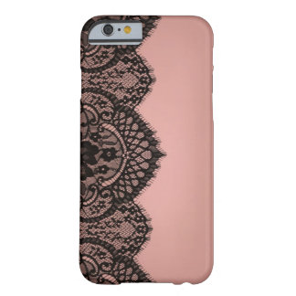 Black lace barely there iPhone 6 case